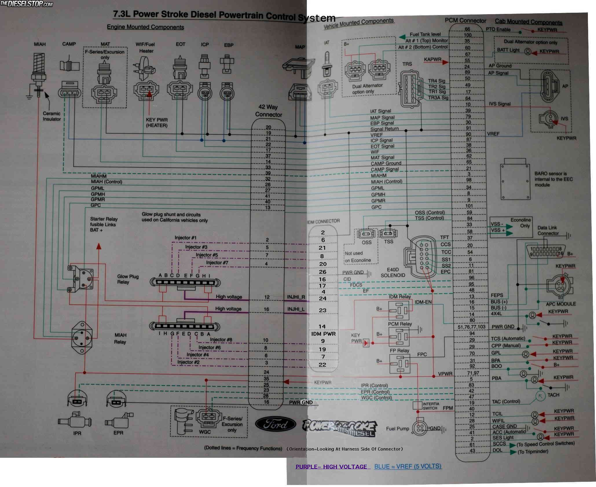 ran my 03 e350 psd at the dragstrip tonight page 2 diesel forum  thedieselstop com Ford Ignition Wiring Diagram 99 Ford Econoline Wiring- Diagram