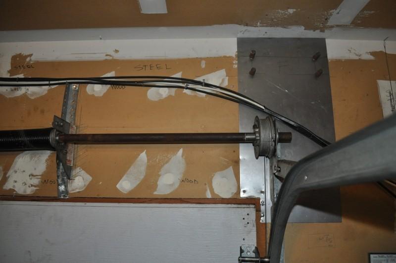 Garage Door Tension Rod Is Shifting