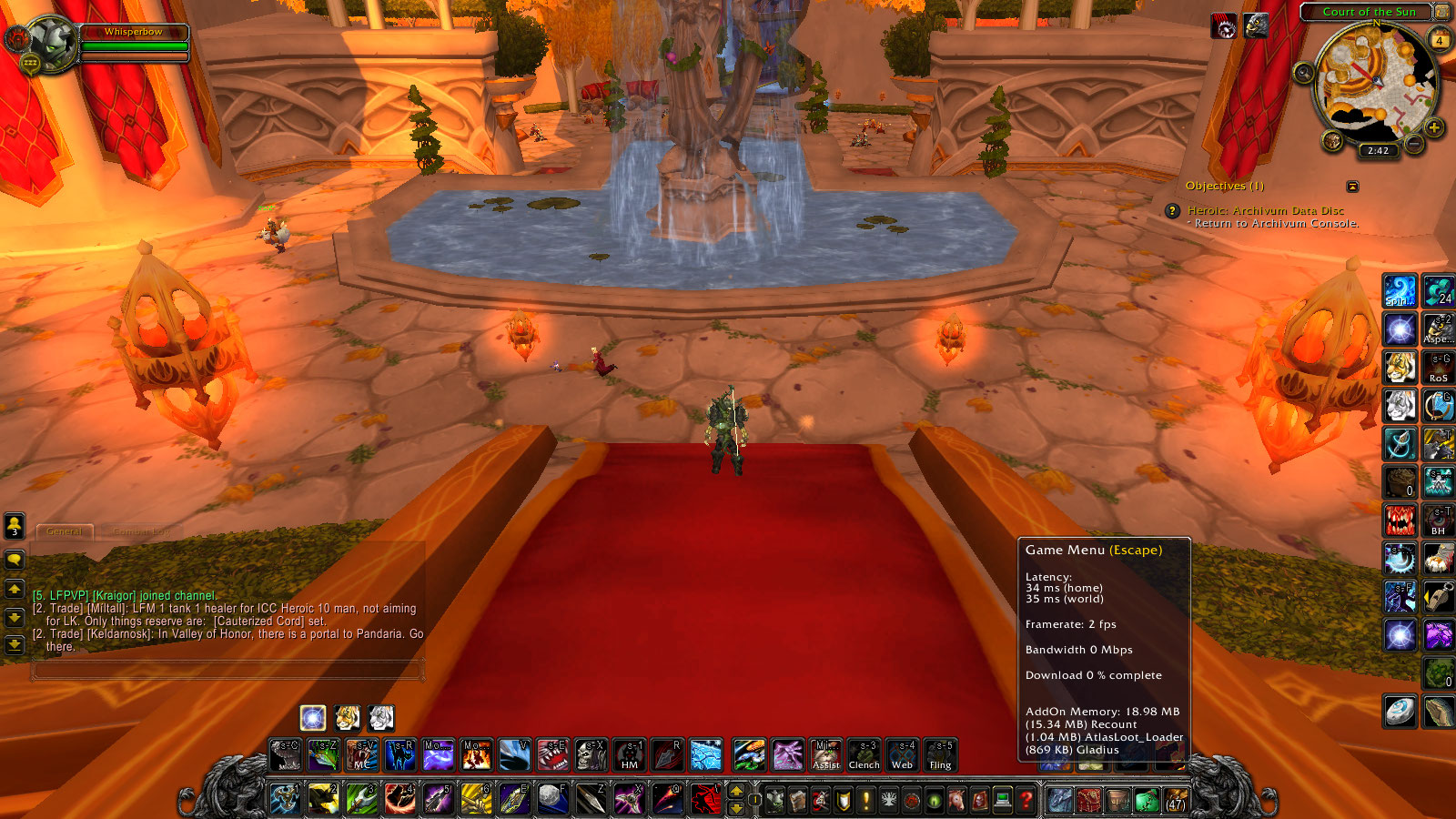 Game FPS Drop in Silvermoon  - World of Warcraft Forums