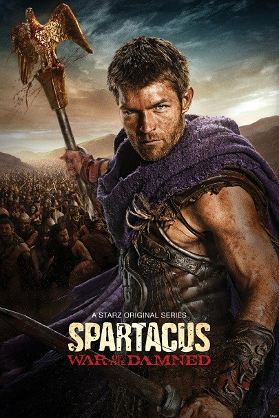 SPARTACUS 3 Spartacus: War of the Damned 3×08 [HDTV 720p] [Latino]