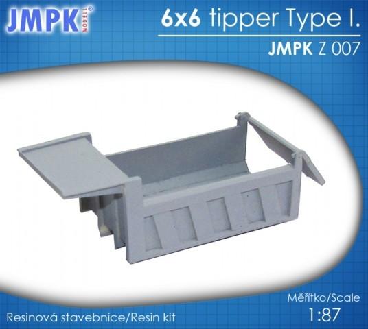 Neuheiten von JMPK Z007-6x6-tipper-type-i--1