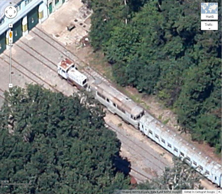Trenuri/Gări pe Google Earth/maps 12666045