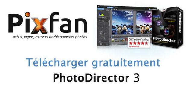 gratuitement cyberlink photodirector 3