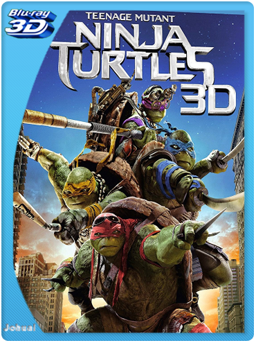 Tortugas Ninja (2014) 3D SBS BRRip 1080p Español Latino