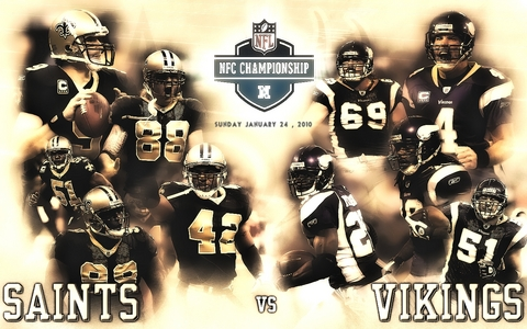 2009 NFC CHAMPIONSHIP GAME - NFL wallpapers. Uploaded on January 23,