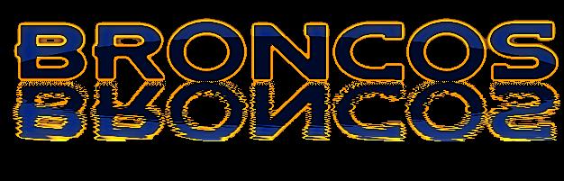 denver broncos printable logo