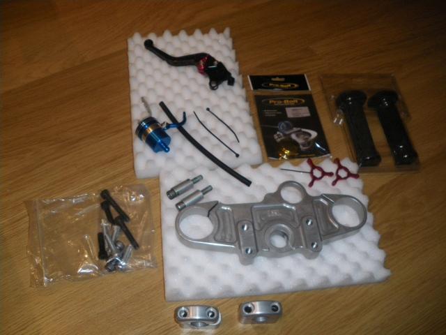 Kit LSL tija manillar alto SV1000S+extras. Bajado a 120eur 4622170