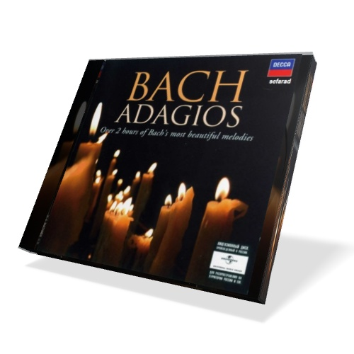 Bach: Adagios [2 CD's] (2009)