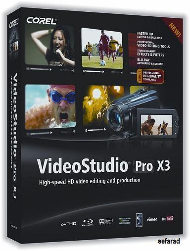 Corel VideoStudio Pro X3 15.0.0.498