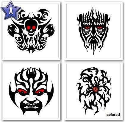 Imágenes - 900 diseños para tatuajes tribales Descargar Gratis