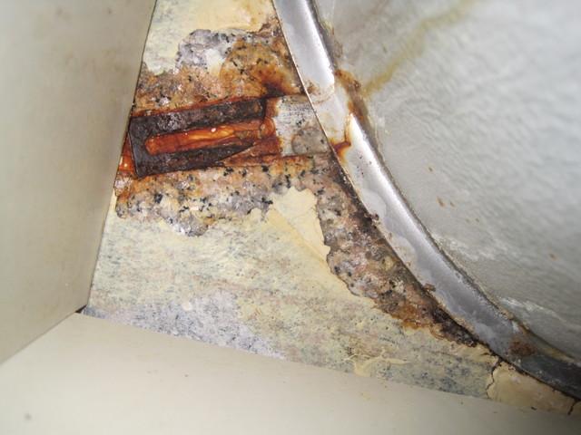 Undermount Sink Falling Granite Stone