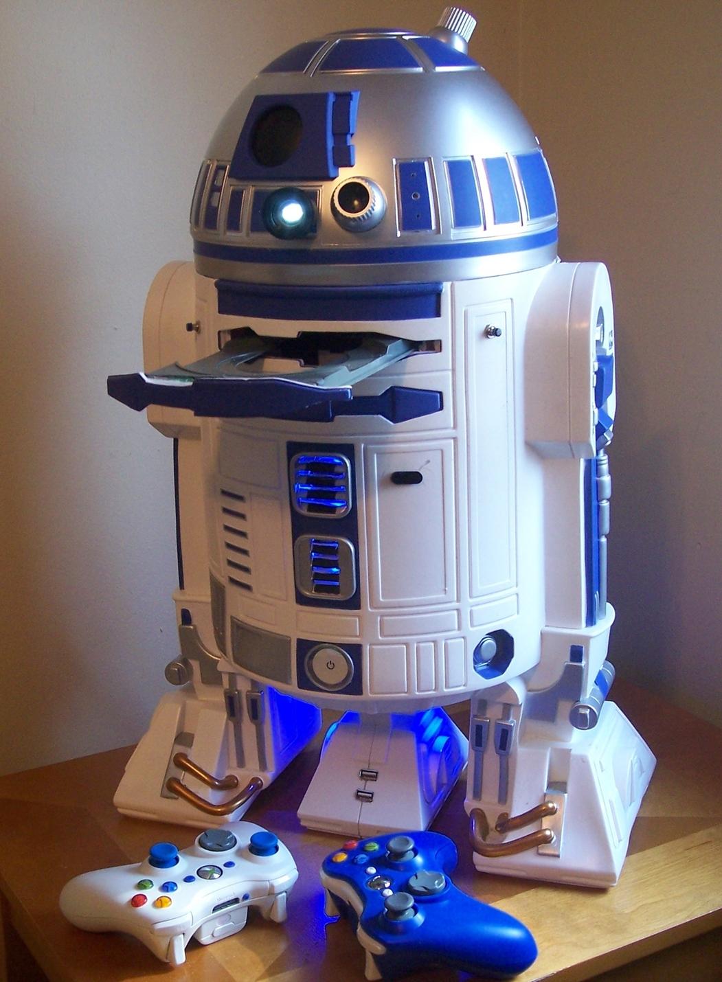 R2d2 360 View R2D2 - XBOX 360...