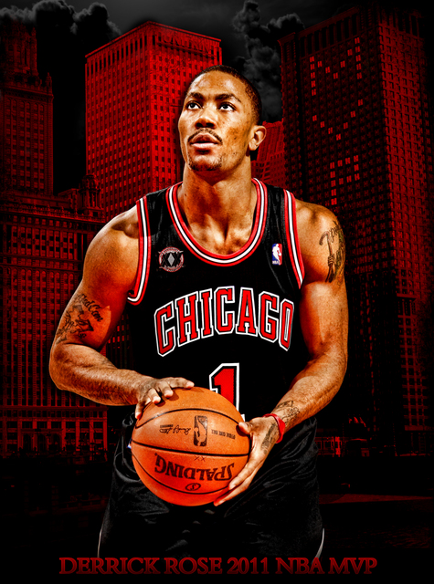 derrick rose background. derrick rose mvp ackground.