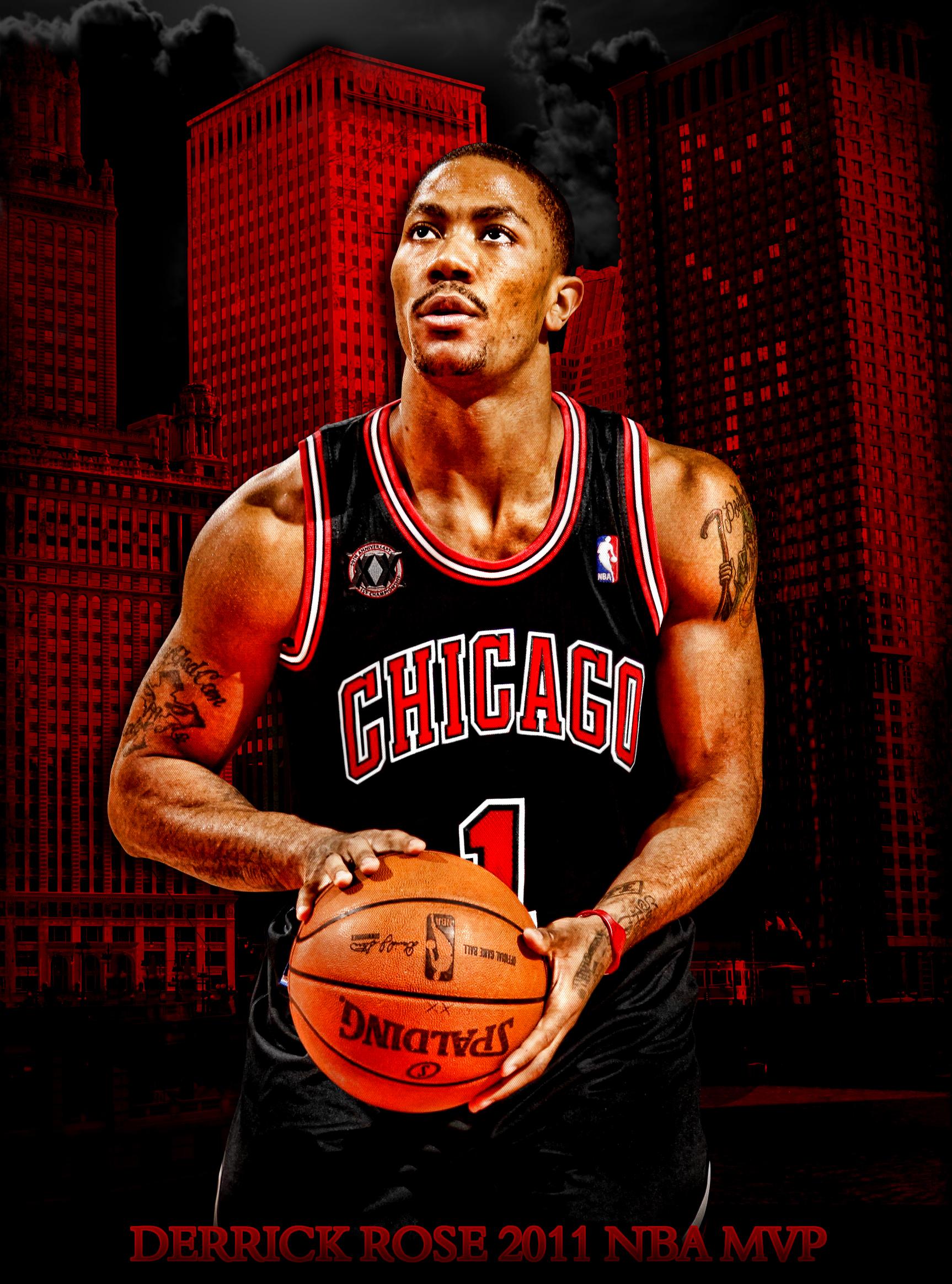 Derrick Rose Wallpaper Mvp NBA Wallpapers ...