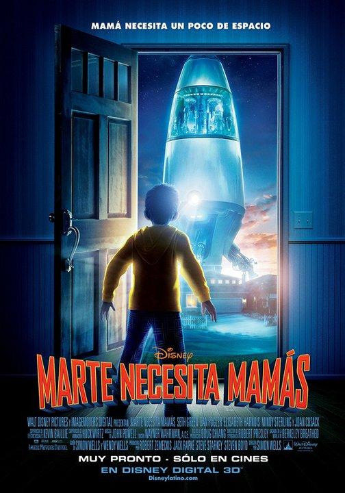Marte Necesita Mamás [DVDRip] [Español Latino] [2011]
