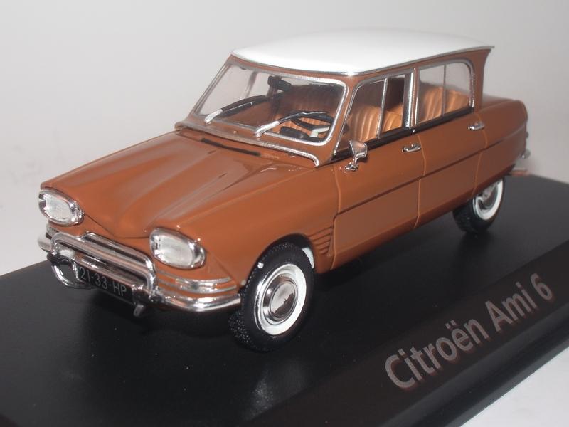 Citroën Ami 6 - Norev 1/43.