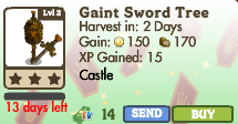 8377040 Limited Edition Castle Trees: Crown & Sword Trees!