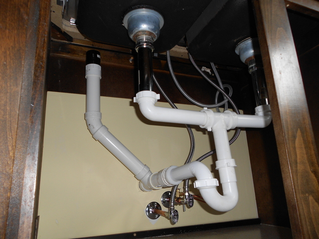 Venting Inadequate With Aav Kitchen Sink